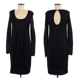 Ports 1961 black lightweight long sleeve dress, 8
